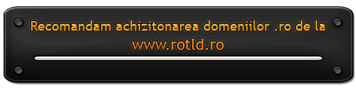 Domenii .ro va recomandam Rotld.ro