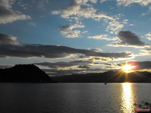 Apus de soare - Lacul Batca 2