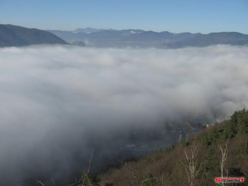Piatra Neamt in ceata