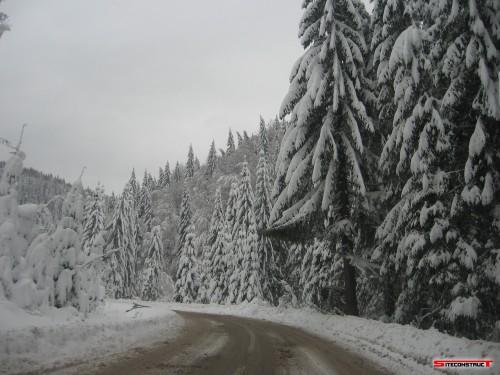 Iarna in Praid