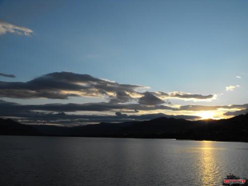 Apus de soare - Lacul Batca