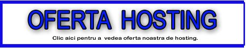 Oferta de hosting